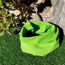 Cuello simple de algodón...