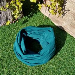 Fular ecológico Verde Azulado