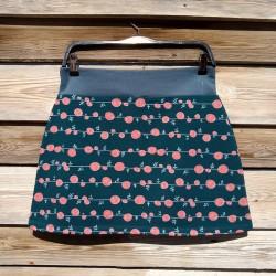 Falda corta ecológica Rosas