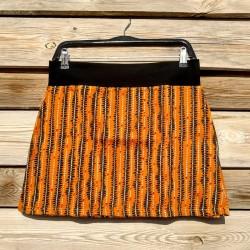 Falda corta Naranja