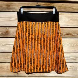 Falda larga ecológica Naranja