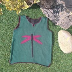 Camiseta ecológica Verde_Negra